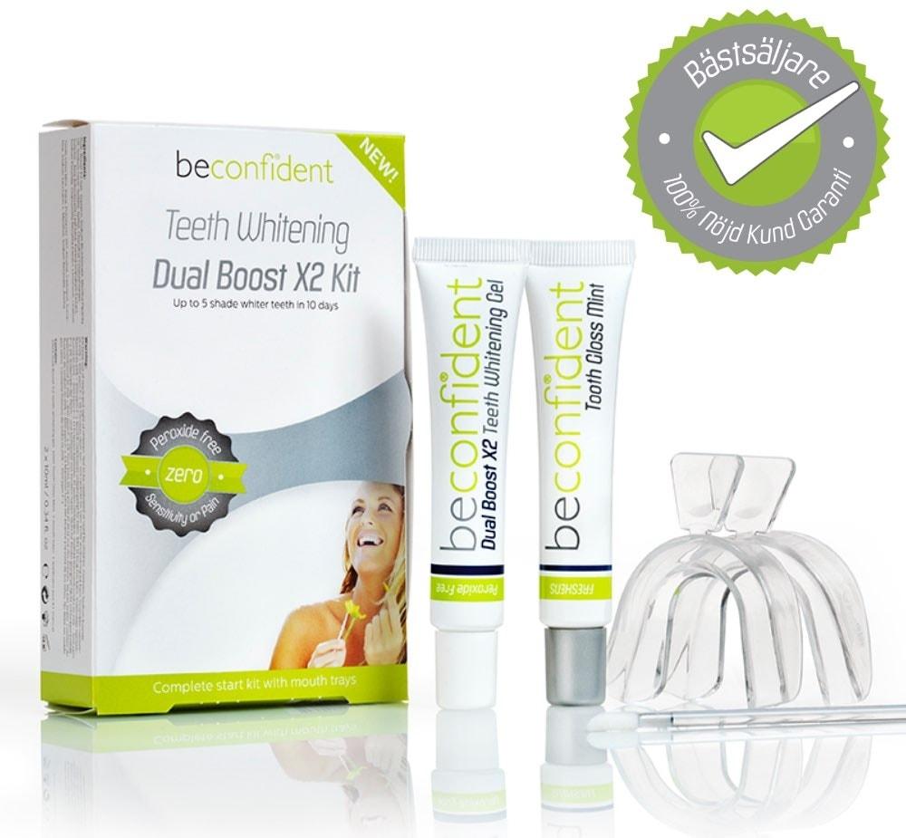 Tandblekning dual boost x2 kit