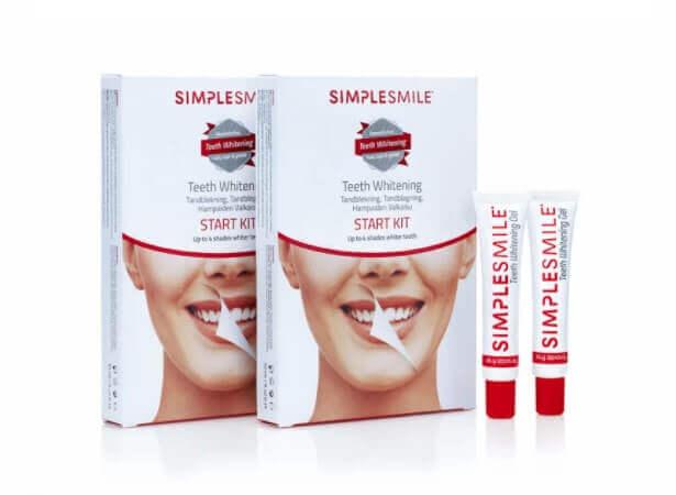 simplesmile tandblekning start kit
